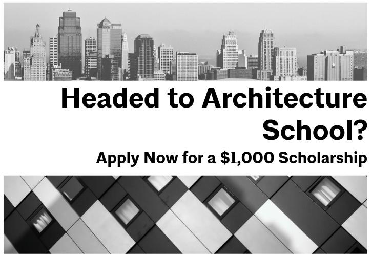 Headed to architecture school scholarship